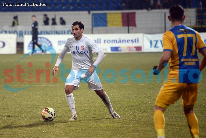 Absente importante pentru FC Botosani! Croitoru a fost cusut, dupa partida cu Petrolul!