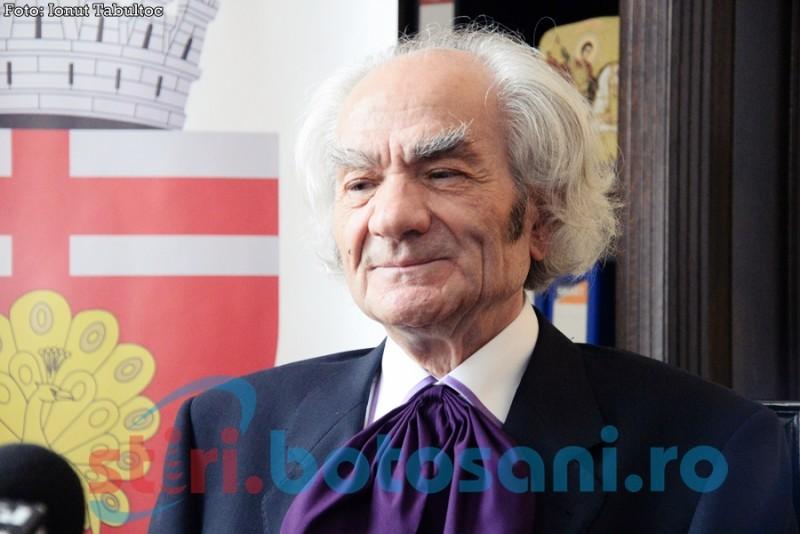 Academicianul Leon Dănăilă împlineşte astăzi 85 de ani