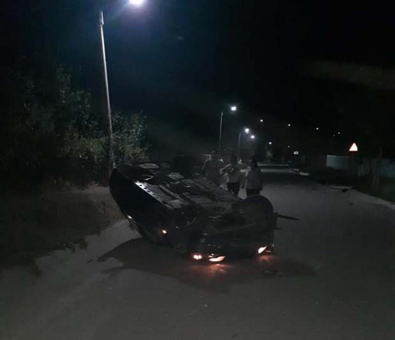 Accident ca în filme pe un drum de la Gorbănești!
