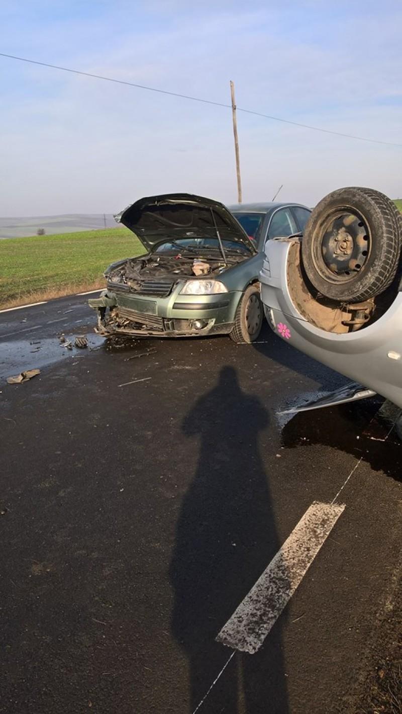 Accident cu două victime pe drumul Botoşani-Săveni!-FOTO