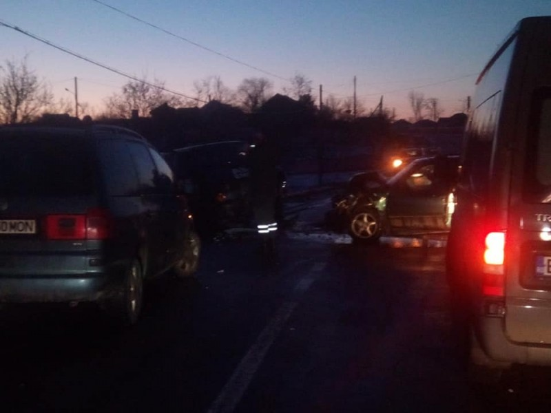 Accident cu răniți la Podriga - FOTO