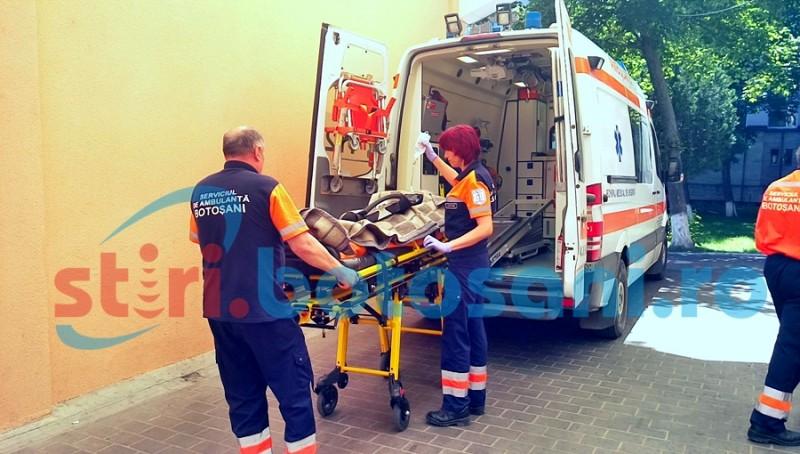 Accident de muncă soldat cu rănirea unui lăcătuş mecanic!