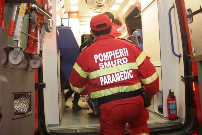 Accident feroviar: Un bărbat a ajuns în stare gravă la spital!