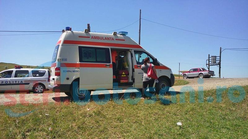 Accident grav! Femeie izbită de un autoturism!