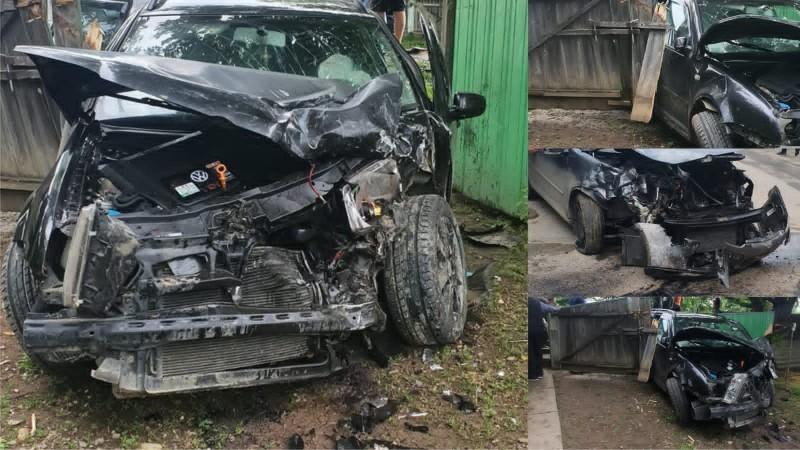 Accident grav în Stăuceni. Trei persoane au fost rănite