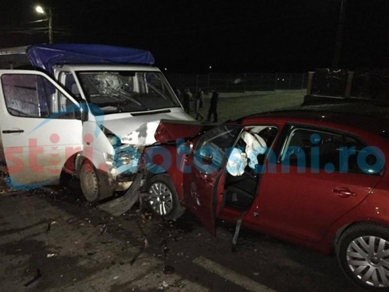 Accident grav la Hudum! Doi copii au ajuns la spital, după ce o mașină a pătruns pe contrasens! FOTO