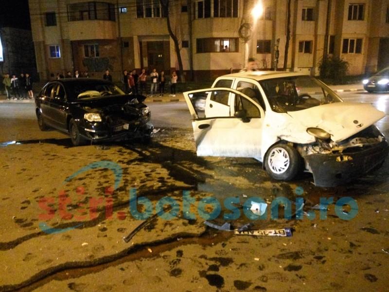 Accident pe Bulevard, produs din neatenție! FOTO