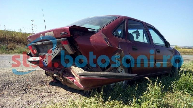 ACCIDENT în lanț pe drumul Botoșani - Dorohoi! FOTO