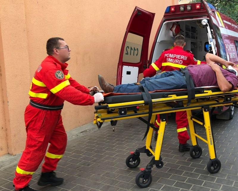 Accident într-o intersecție din municipiul Botoșani!