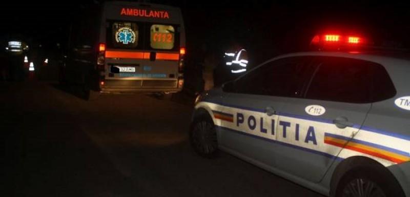 Accident la Lebăda: O șoferiță de 18 ani a acroșat un biciclist, apoi și-a văzut de drum