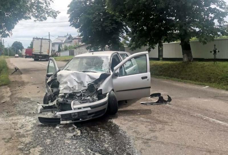 Accident la Vorona Mare. Un bărbat a ajuns la spital