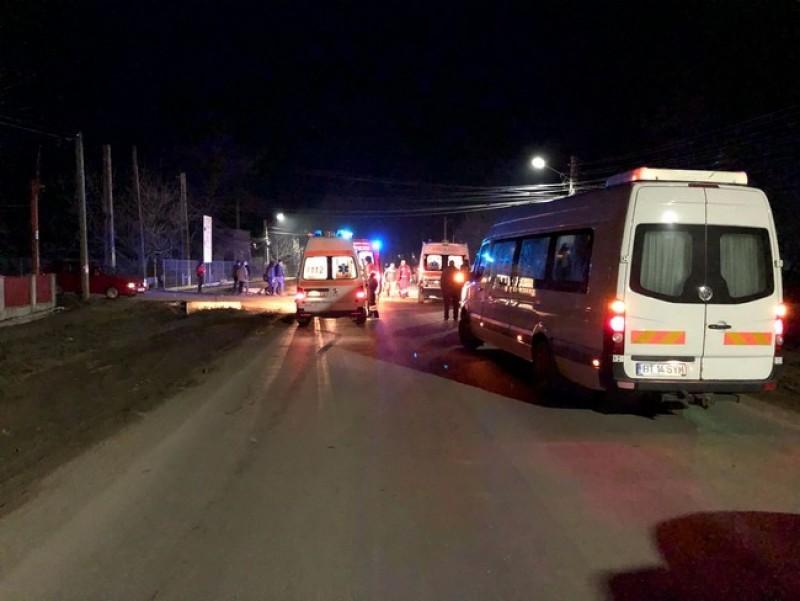 Accident mortal în Cătămărăşti. Două femei spulberate de o maşină-FOTO