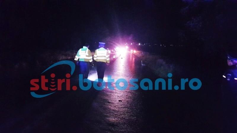 Accident mortal pe drumul Suceava-Botoşani! Un botoşănean şi-a pierdut viaţa!