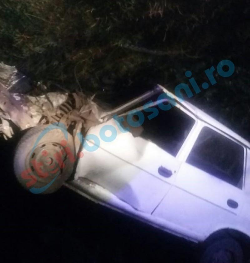 Accident mortal pe o şosea din judeţul Botoşani provocat de un adolescent de 16 ani! Un copil de 14 ani a murit, un alt tânăr a fost rănit grav!