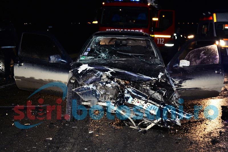 ACCIDENT: Patru masini DISTRUSE si doua victime, la Hudum! FOTO, VIDEO