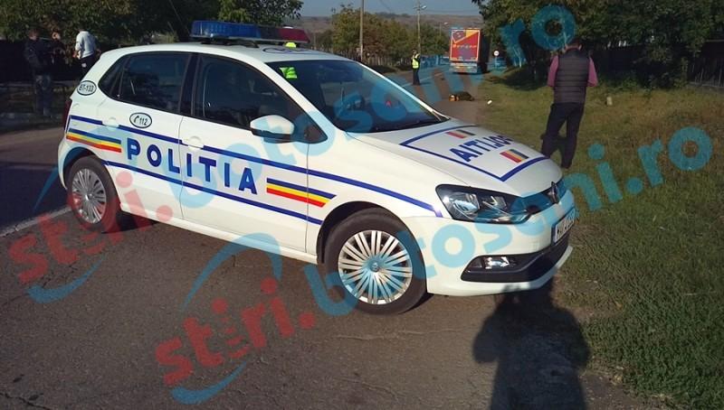Accident produs din grabă la ieşirea din Botoşani!