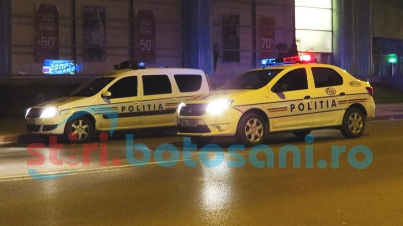 Accident provocat de o şoferiţă beată pe o stradă din Botoşani!