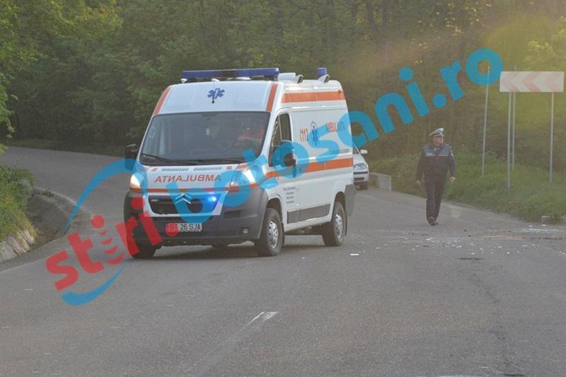 Accident provocat de un șofer neatent! O femeie a ajuns la spital!