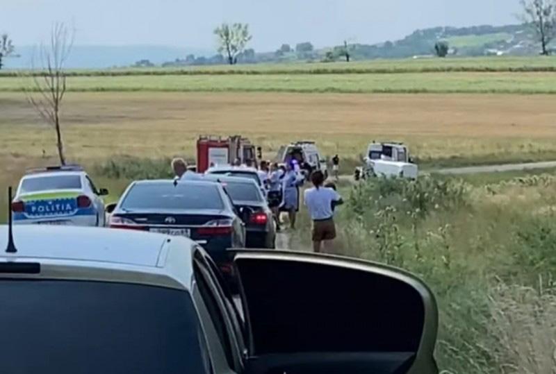 Accident rutier frontal. O persoană a murit și alte trei au fost rănite, inclusiv un copil