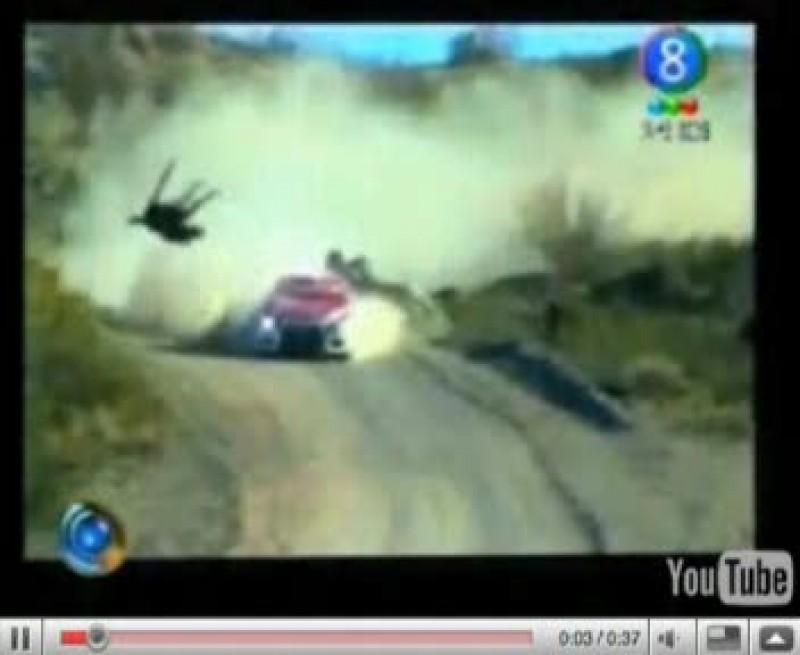 Accident teribil în Raliul Argentinei: Un pilot a izbit în plină viteză un cal - ATENŢIE, IMAGINI ŞOCANTE!