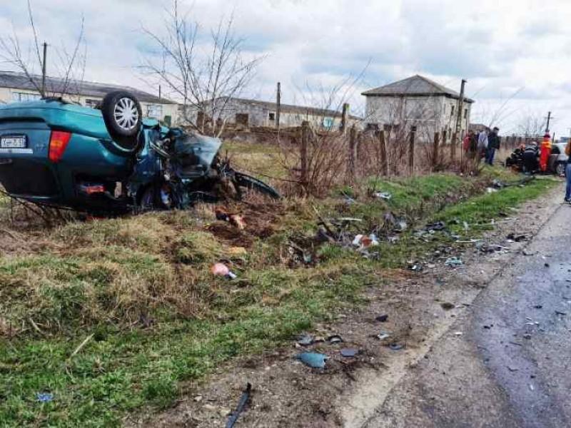 Accident teribil provocat de un botoșănean. A fost solicitat un elicopter