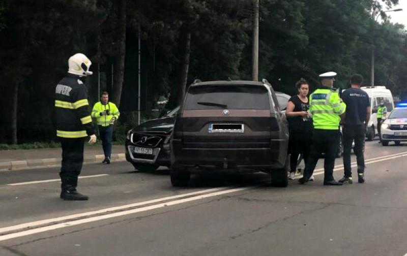 Accidentul de ieri de la Suceava a fost produs de botoșăneanul de la volanul BMW-ului