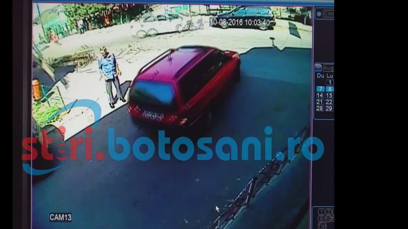 ACCIDENTUL de la Trușești, surprins de camerele de supraveghere! Hoțul este bolnav psihic! VIDEO