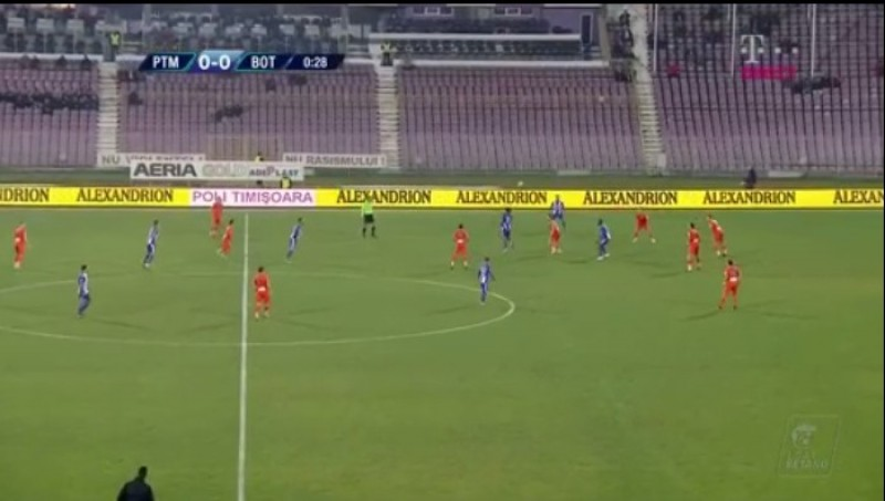 ACS Poli Timişoara- FC Botoşani 1-1