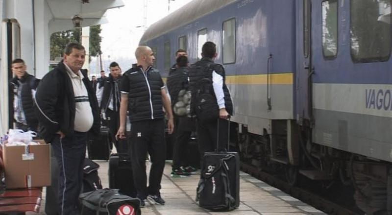 ACS Poli Timisoara vine din nou cu trenul, la Botosani! Anul trecut au fost abandonati in gara!