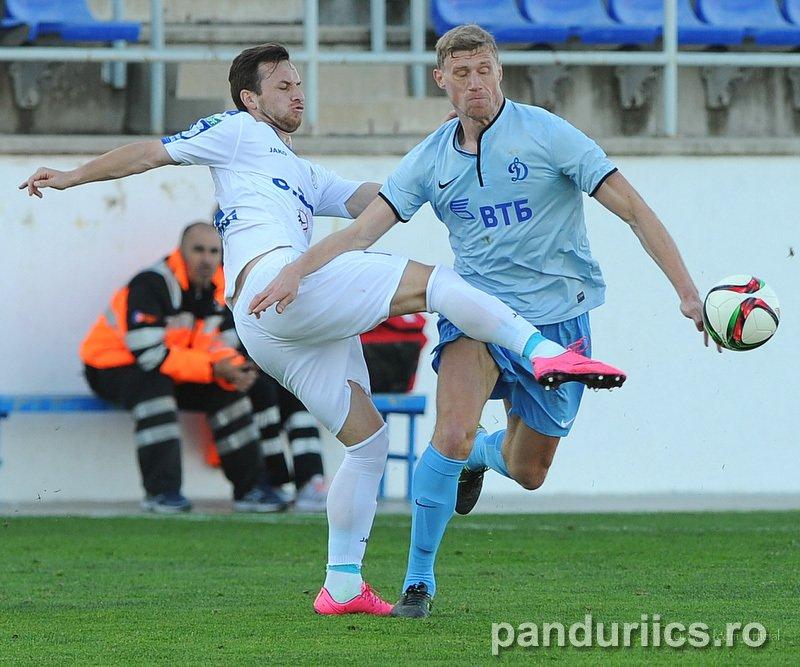 Acsinte si Ciucur, titulari in egalul cu Dinamo Moscova - FOTO