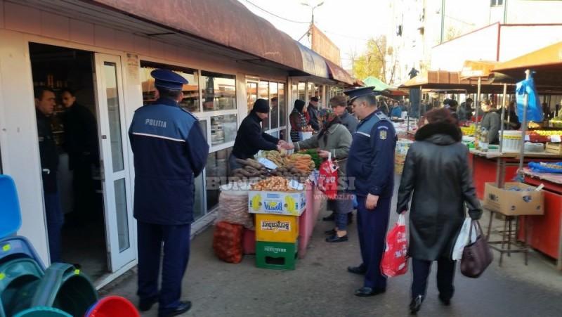 Acțiune a polițiștilor la comercianții din Bucecea: Amenzi și confiscare de bunuri!