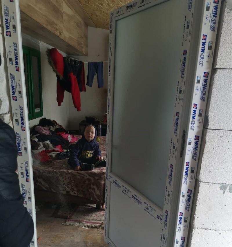 Acțiune de binefacere a Frăției Ortodoxe pentru o familie din județul Botoșani