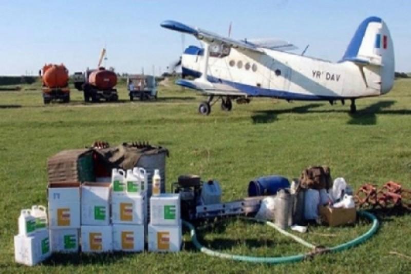 Acțiune de combatere aeriană a dăunătorilor efectuată în municipiul Dorohoi. Botoșani încă stă pe tușă