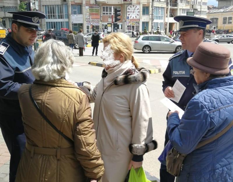 Acţiune organizată de poliţiştii botoșăneni, pentru prevenirea şi combaterea actelor ilicite de comerţ şi a criminalităţii stradale