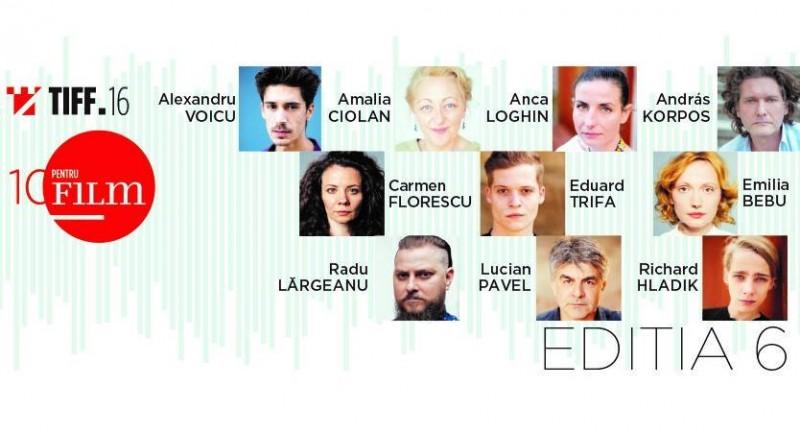 "Actor botoșănean selectat la ""10 pentru FILM"" - TIFF 2017!"
