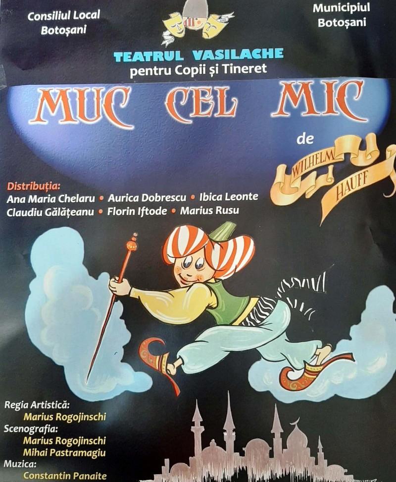 """Actorii Teatrului """"Vasilache"""" prezintă săptămâna aceasta, două spectacole excepționale dedicate copiilor și adolescenților"""