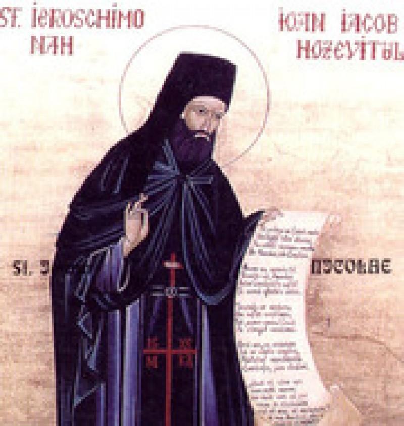 Acum 102 de ani se nastea, în Crăinicenii Botoşanilor, Sfantul Ioan Iacob Hozevitul