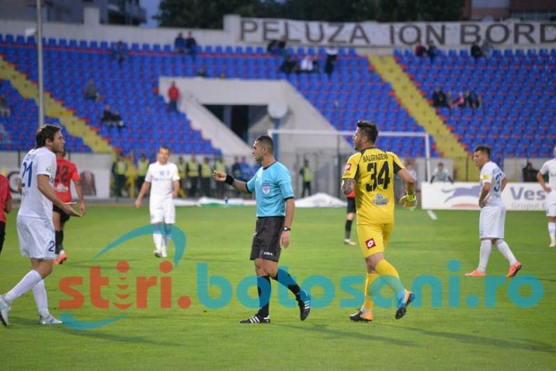 Acuze fără precedent ale lui Ion Crăciunescu, în urma prestației arbitrului Iulian Călin în meciul de la Botoșani!