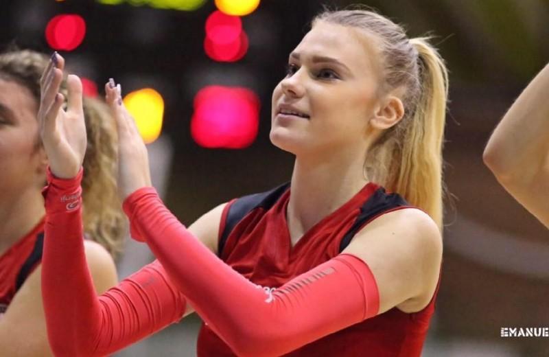 Adelina Budai-Ungureanu a impresionat la Campionatul European de Volei U18! FOTO