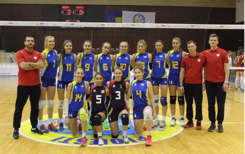 Adelina Budăi-Ungureanu s-a calificat în premieră cu naționala României U18 la Campionatul European de Volei!