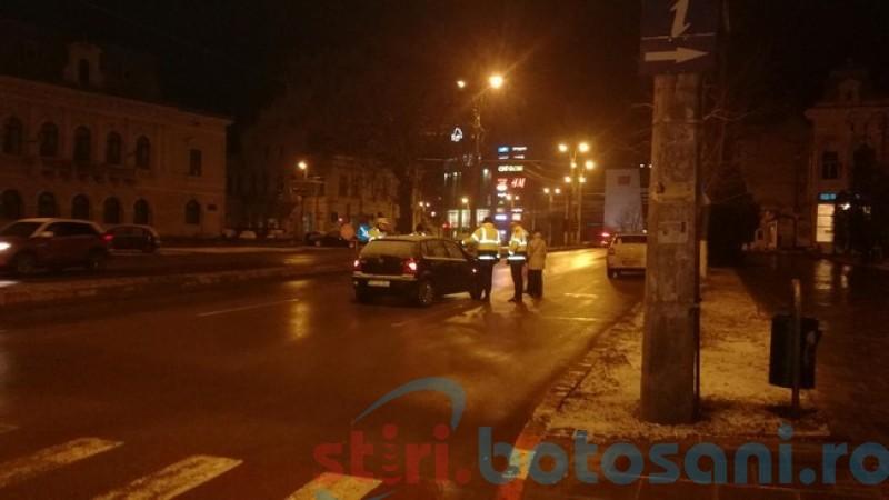 Adolescentă lovită de o maşină pe trecerea de pietoni-FOTO