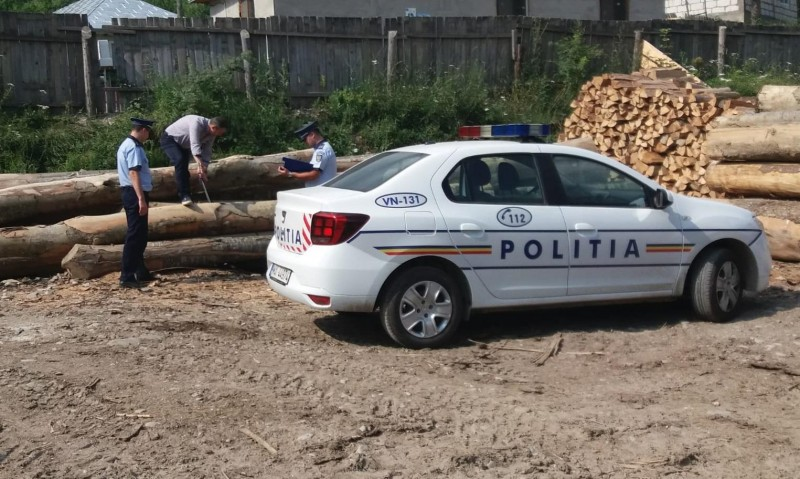Agent economic amendat pentru un transport ilicit de lemne