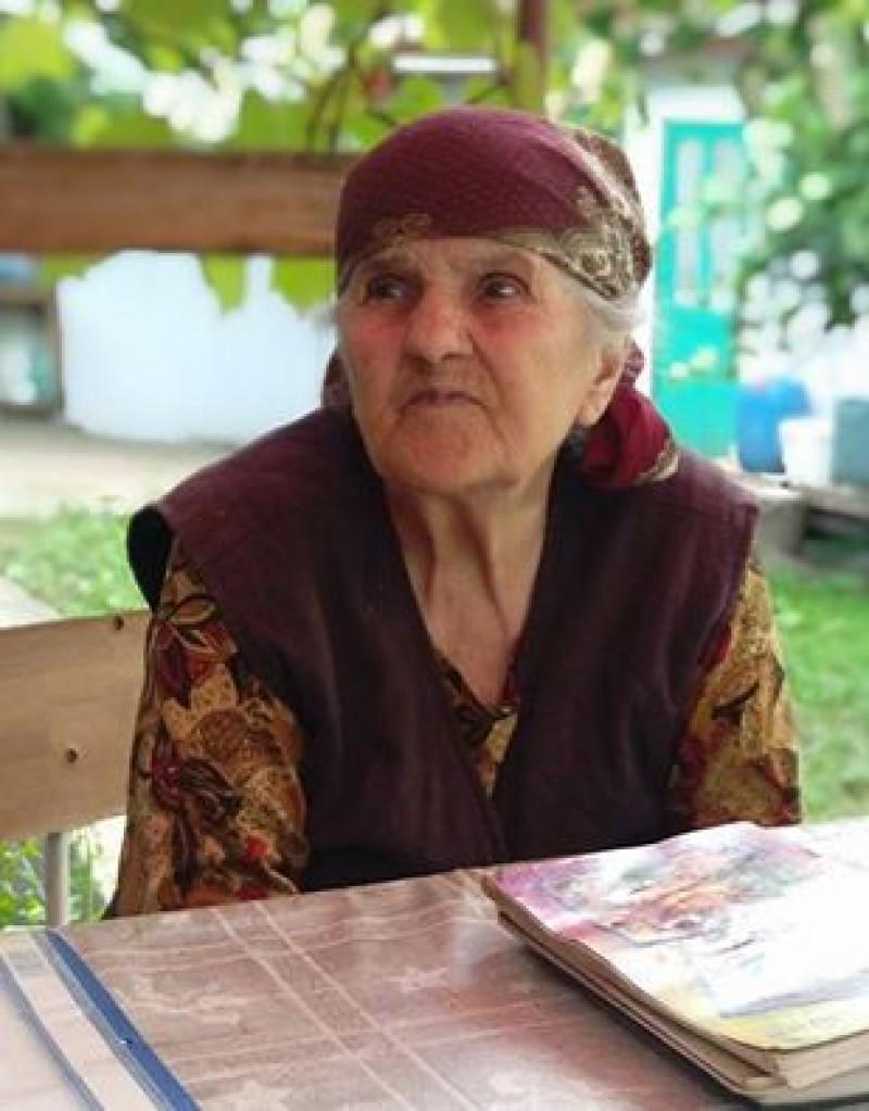 """AGLAIA FLOREA, ţăranca din Teioasa care poartă """"Doina Prutului"""" prin veac! FOTO, VIDEO"""