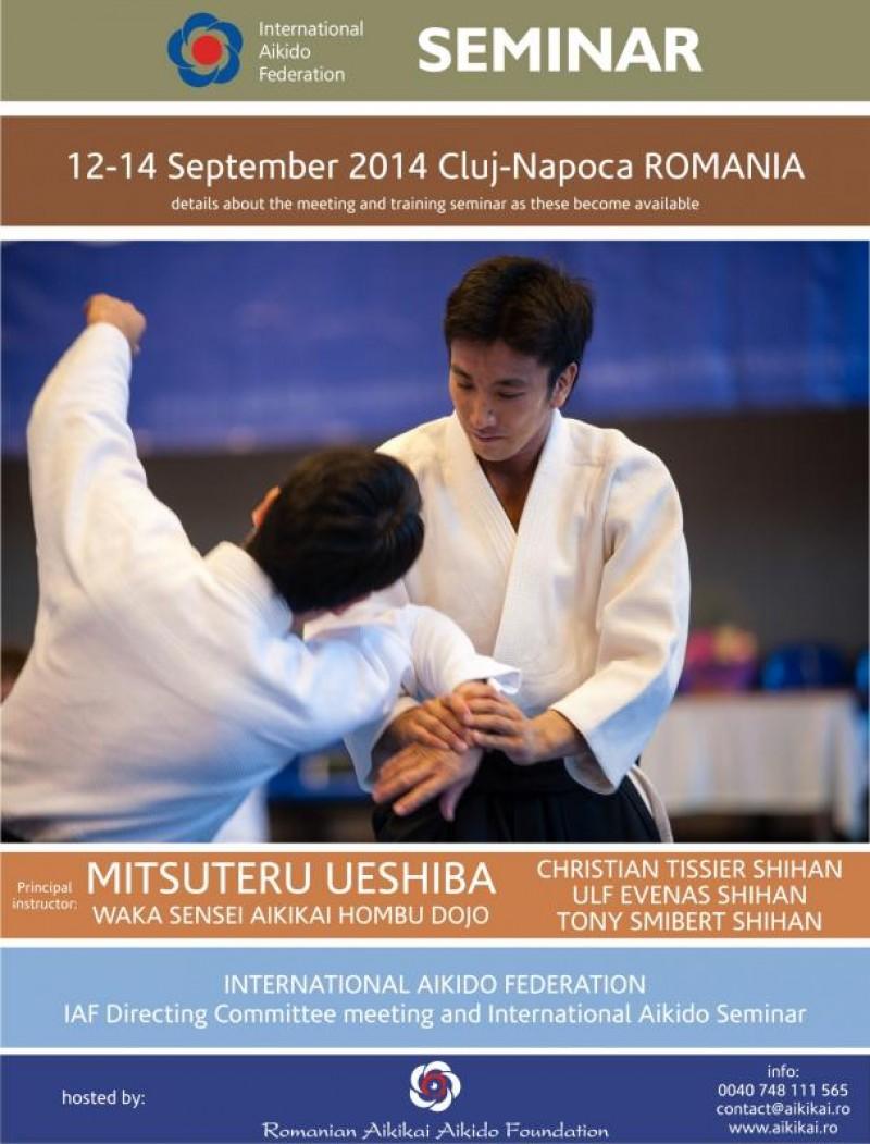 AIKI DOJO Botoșani, prezent la cel mai mare seminar AIKIDO din România