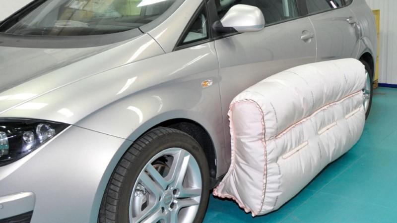 Airbag-urile externe:Aar putea reduce cu 30% gravitatea accidentelor