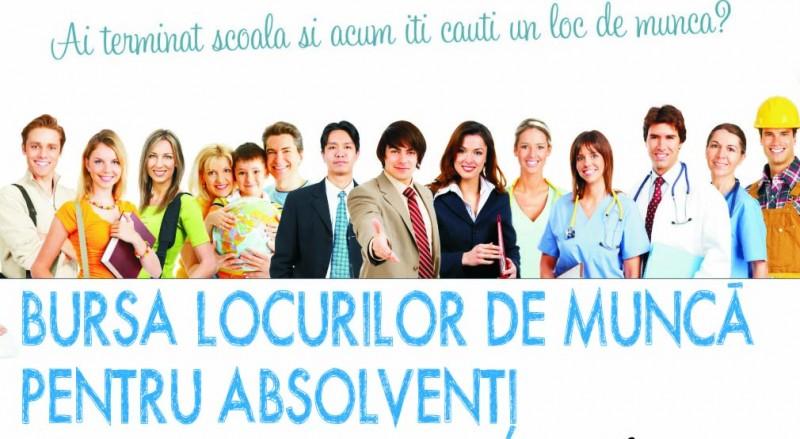 AJOFM Botoșani organizează Bursa generală a locurilor de muncă pentru absolvenți