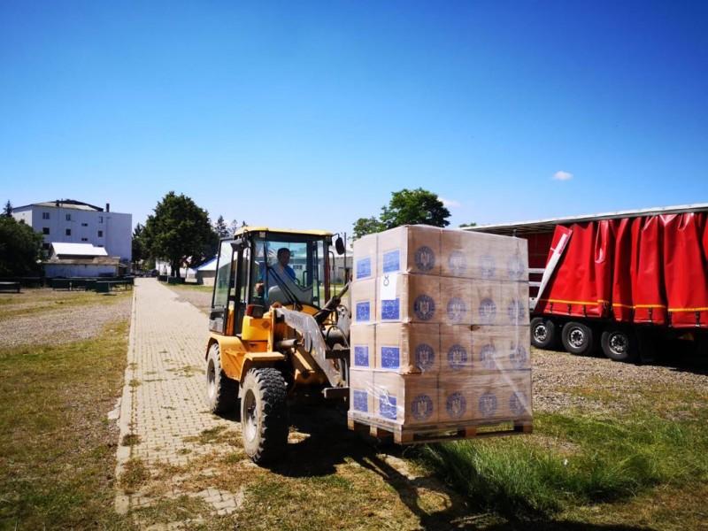 Ajutoare receptate de la Uniunea Europeană pentru aproape 40.000 de botoșăneni