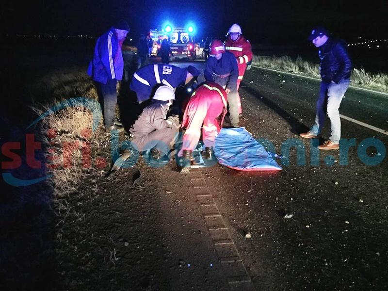 Ajutor cerut pentru una dintre tinerele rănite în accidentul de la Vlădeni