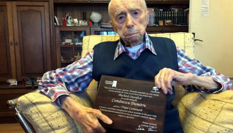 Al treilea cel mai longeviv bărbat al planetei este un român