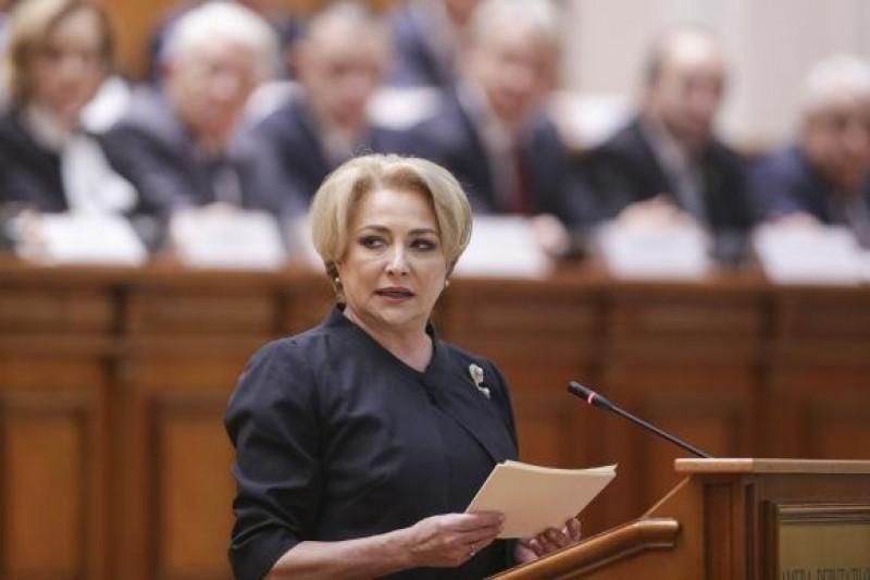Al treilea guvern PSD-ALDE, învestit de către Parlament! Prima măsură a Guvernului Dăncilă: renunţarea la Formularul 600